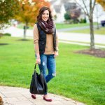 Winter Quilted Vest Outfit