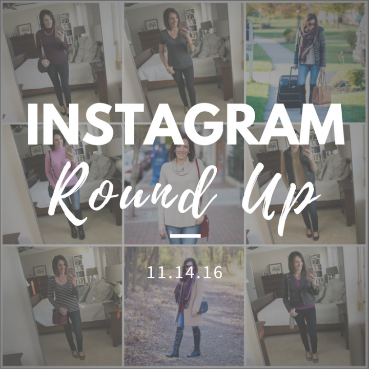 Instagram Roundup // What I Wore This Week 11.14.16