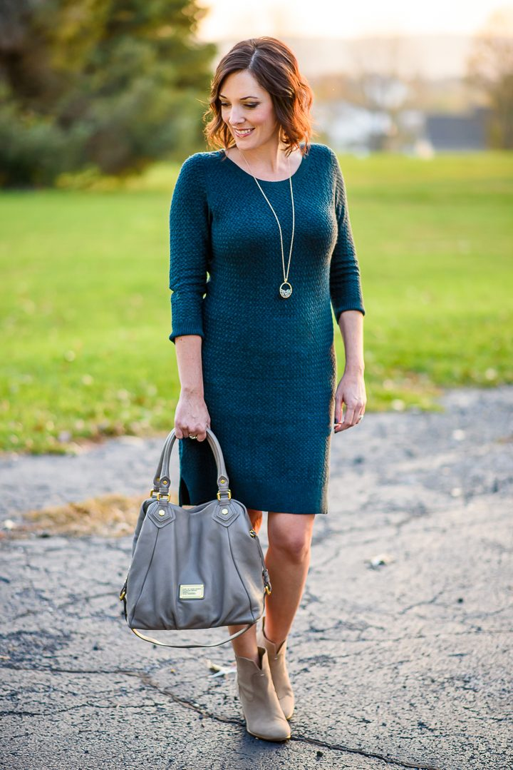 Must-Have Sweater Dress for Fall (Only $39!)