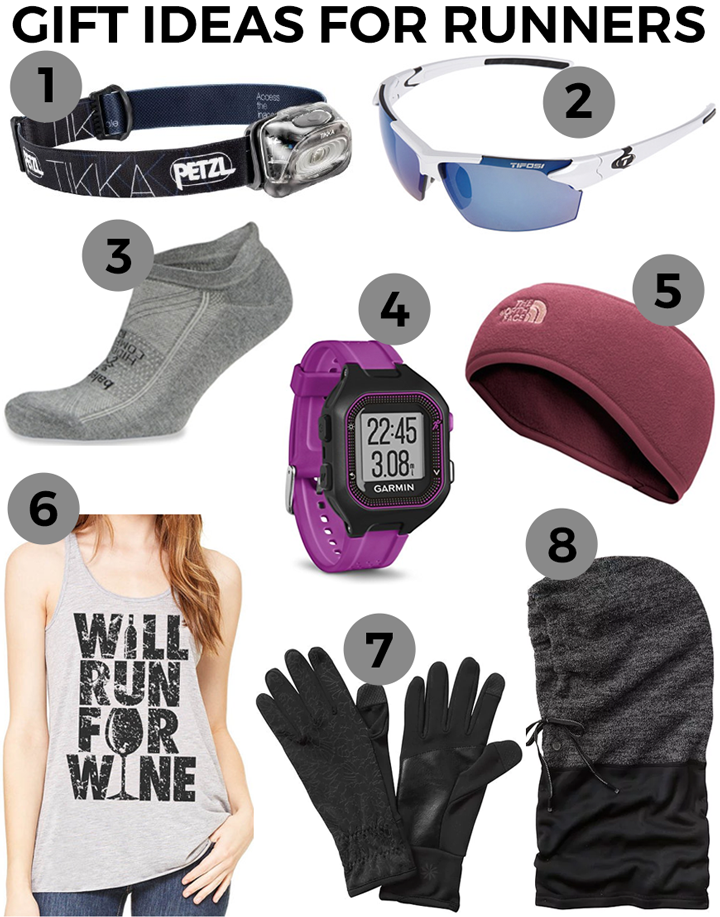 Holiday Gift Ideas for Runners