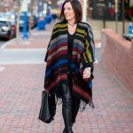 3 Ways to Wear Faux Leather Pants Over 40