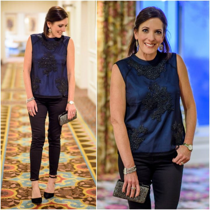 New Year's Eve Party Outfit with Lucky Brand