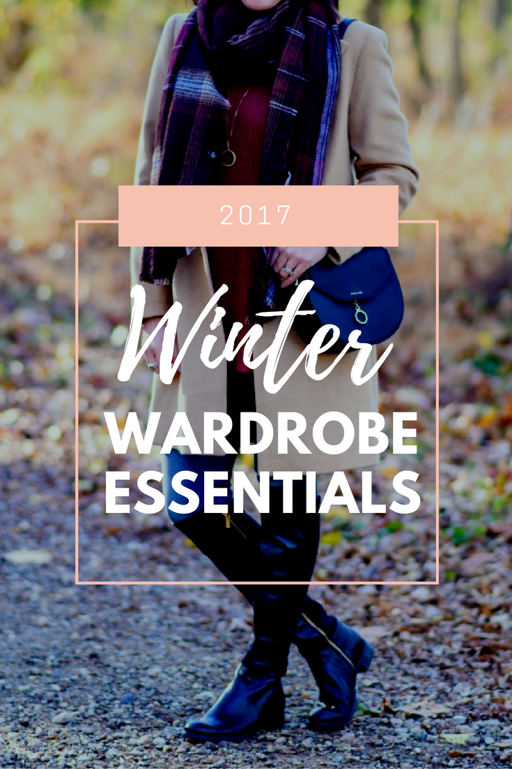 winter wardrobe essentials 2017