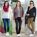 3 Ways to Wear White Converse Shoreline This Winter