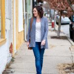 Wear Now & Later: LOFT Ribbed Open Cardigan
