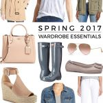 15 Spring Wardrobe Essentials for 2016
