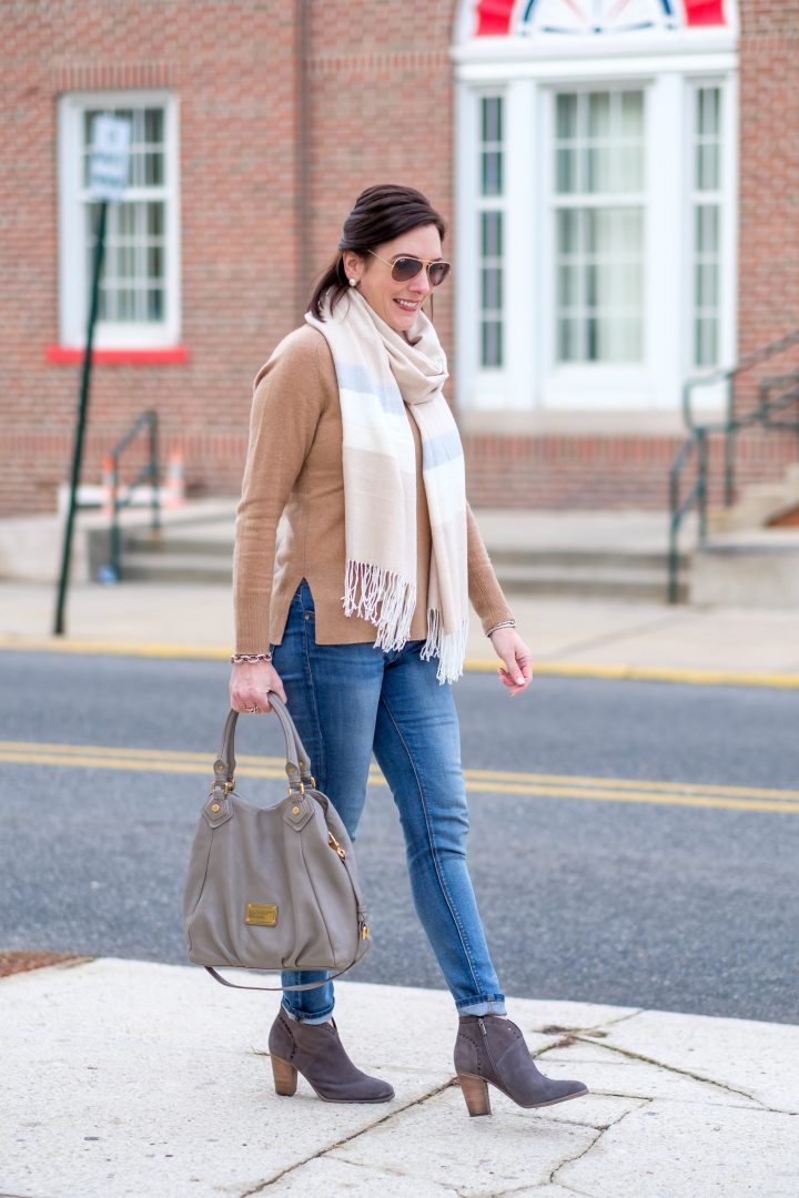 Mixing Grey & Camel + Nordstrom Winter Sale Picks #NSale
