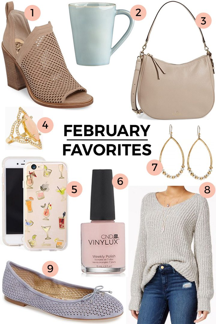 February Favorites + Valentine's Day Sales