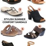 Stylish Comfort Sandals for this Spring & Summer