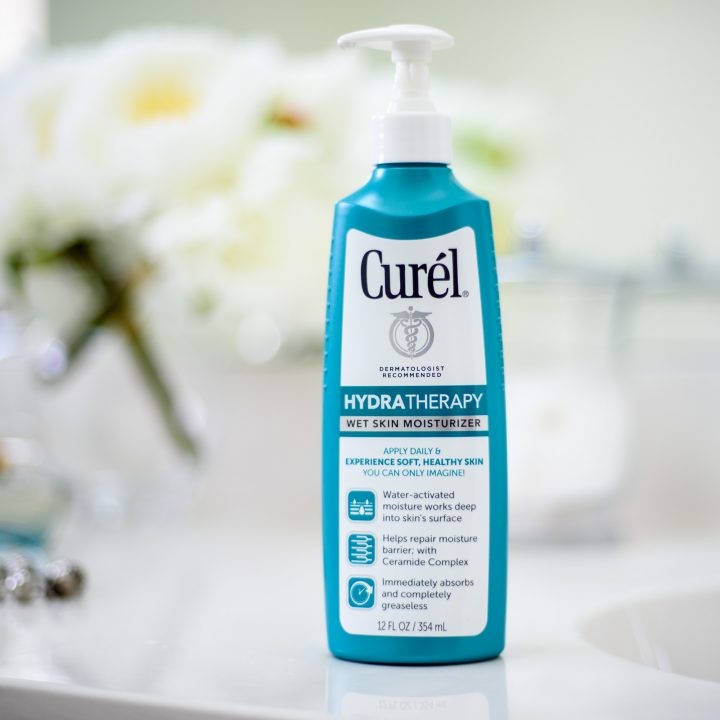 Introducing Curél® Hydra Therapy Wet Skin Moisturizer #EndDrySkin