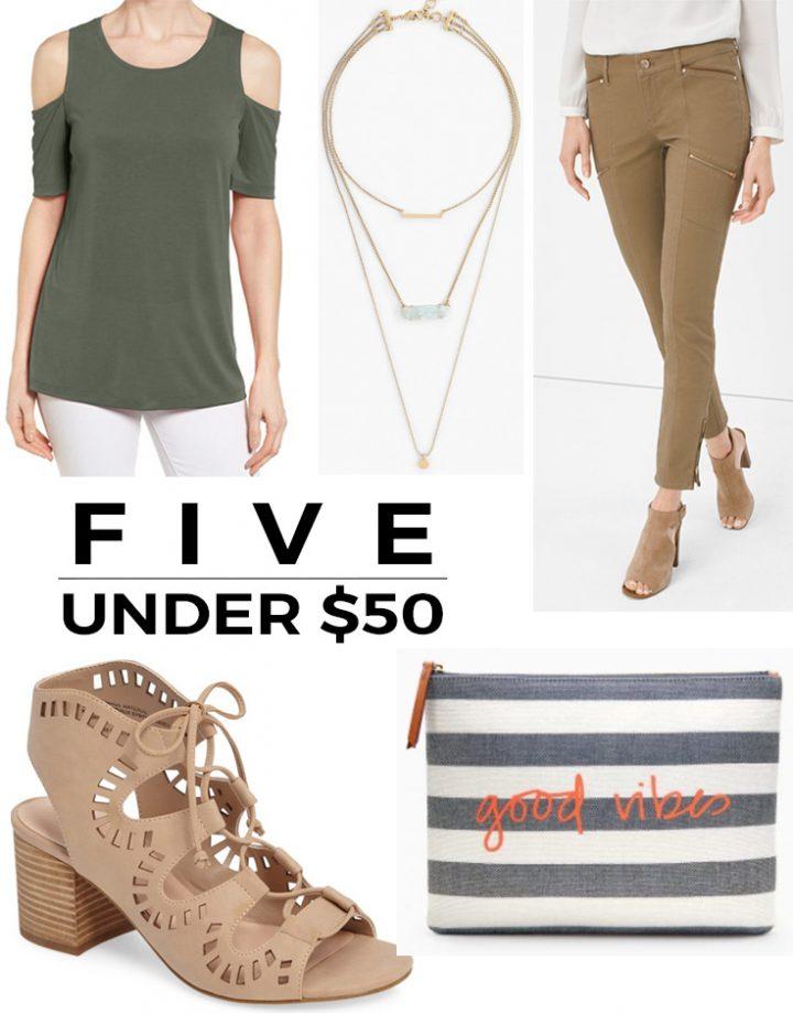 5 Under $50