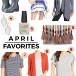 April Favorites Under $100 + Weekend Sales