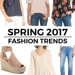 6 Top Spring 2017 Fashion Trends