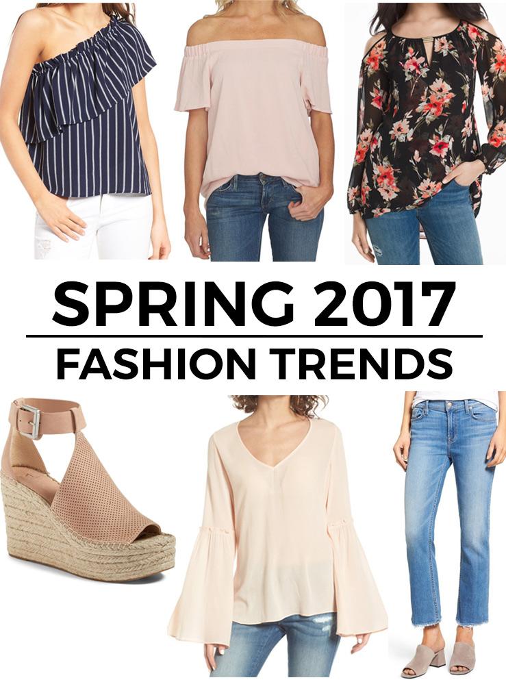 6 top spring 2017 fashion trends. Black Bedroom Furniture Sets. Home Design Ideas