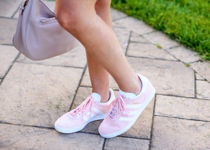 Adidas Gazelle in Vapor Pink