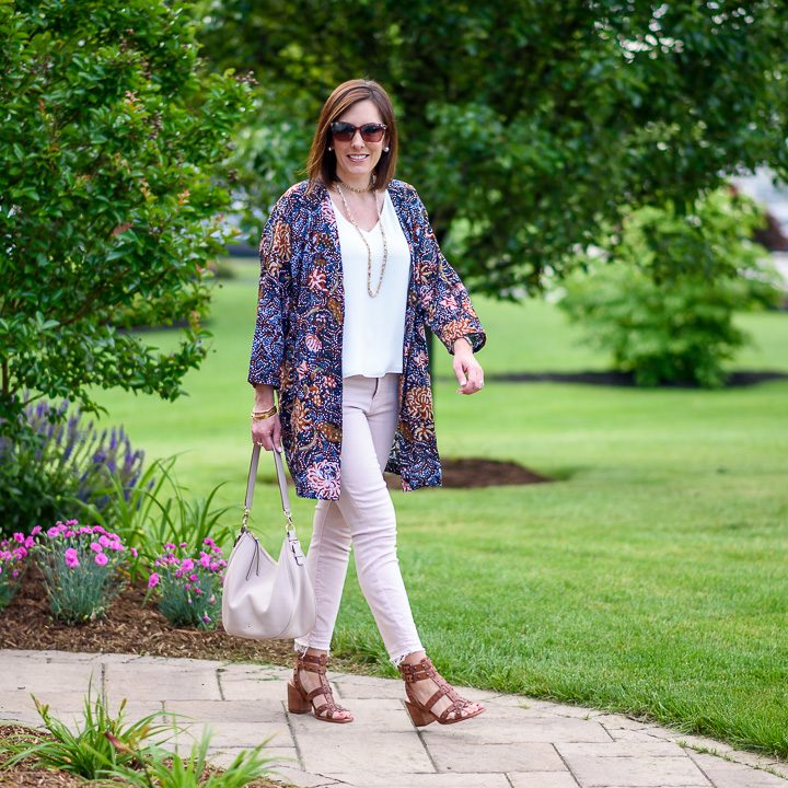 Styling a Robe Jacket