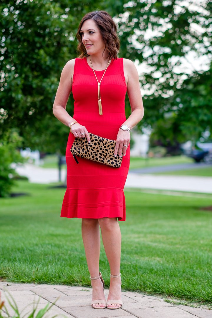 Today I'm teaming up with Nordstrom to style a fun and flirty look featuring a red sleeveless summer sweater dress.