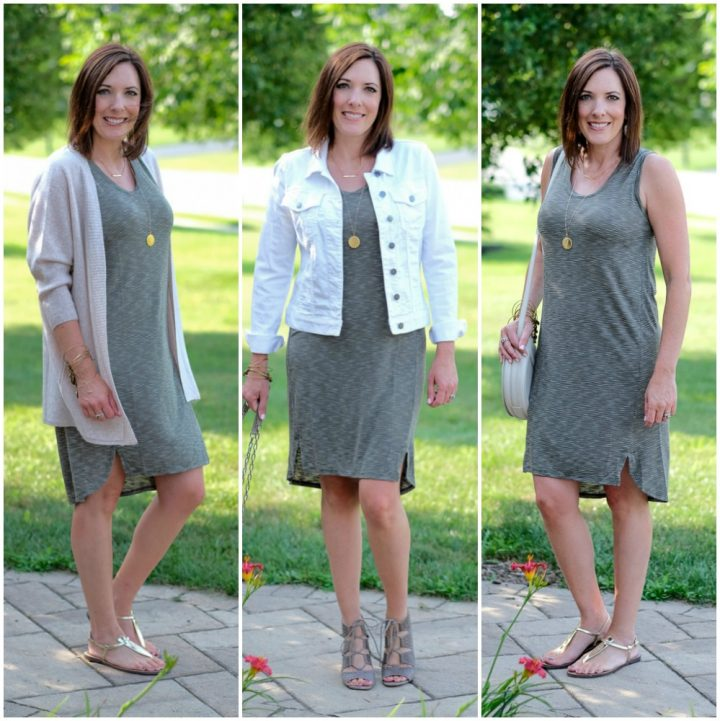 Shirttail Hem Tank Dress Now & Later