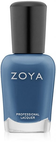 Zoya Natty Steel Blue Nail Color