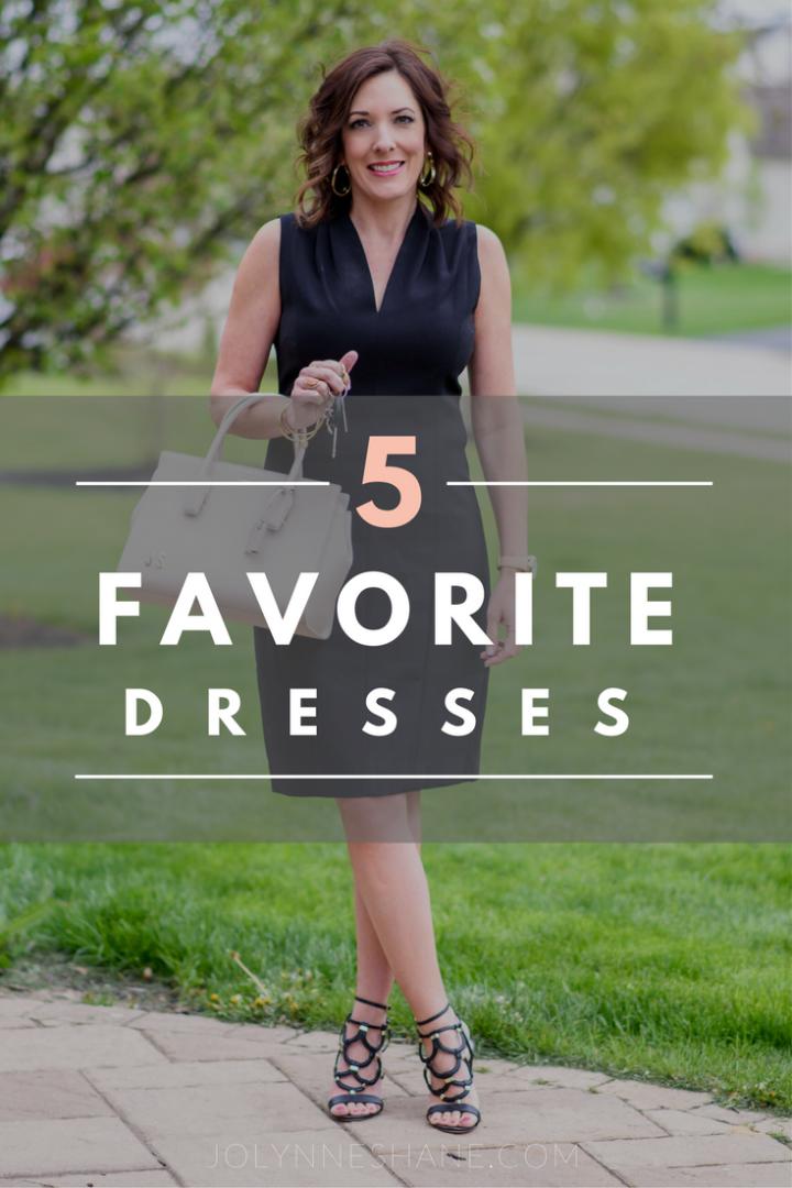 5 Favorites: Dresses