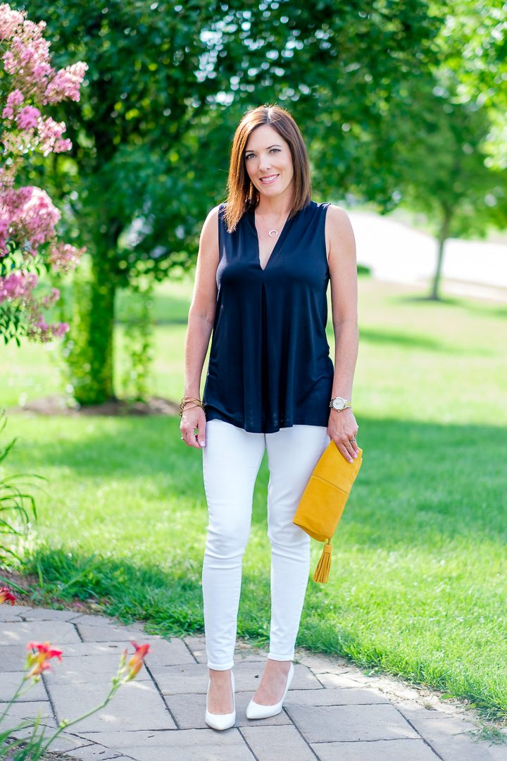 Black & White Summer Outfit
